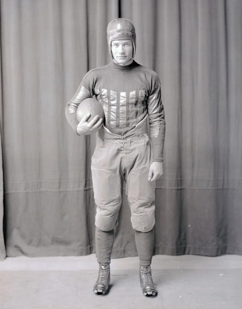 Ed Weir football portrait