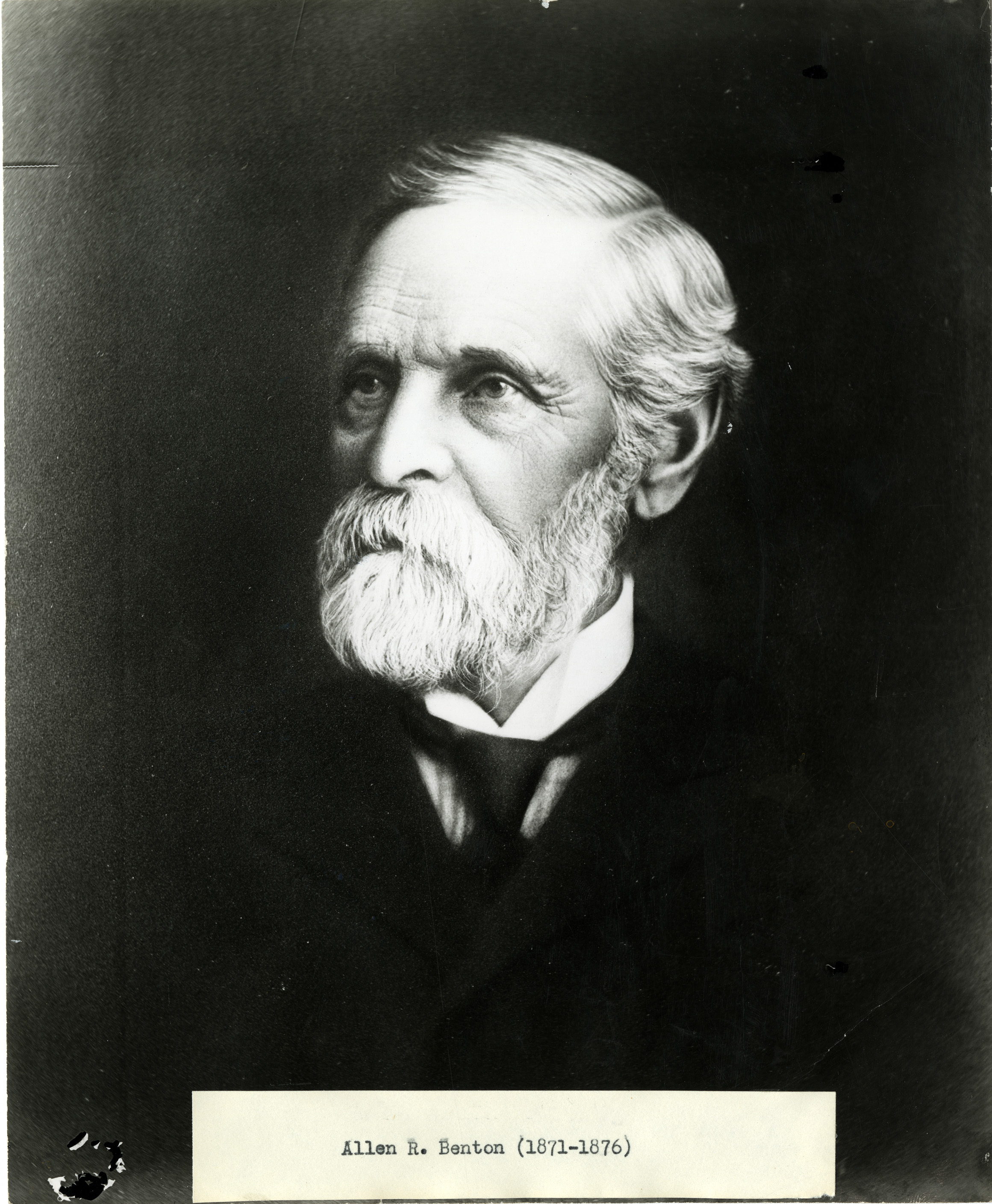 Allen R. Benton portrait