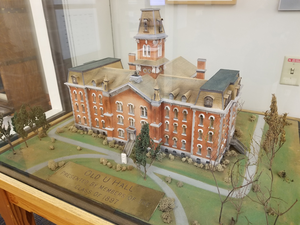 University Hall model