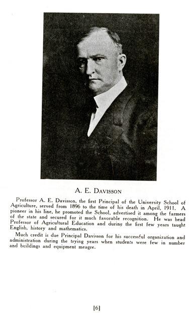 Article, Albert Eugene Davisson biography