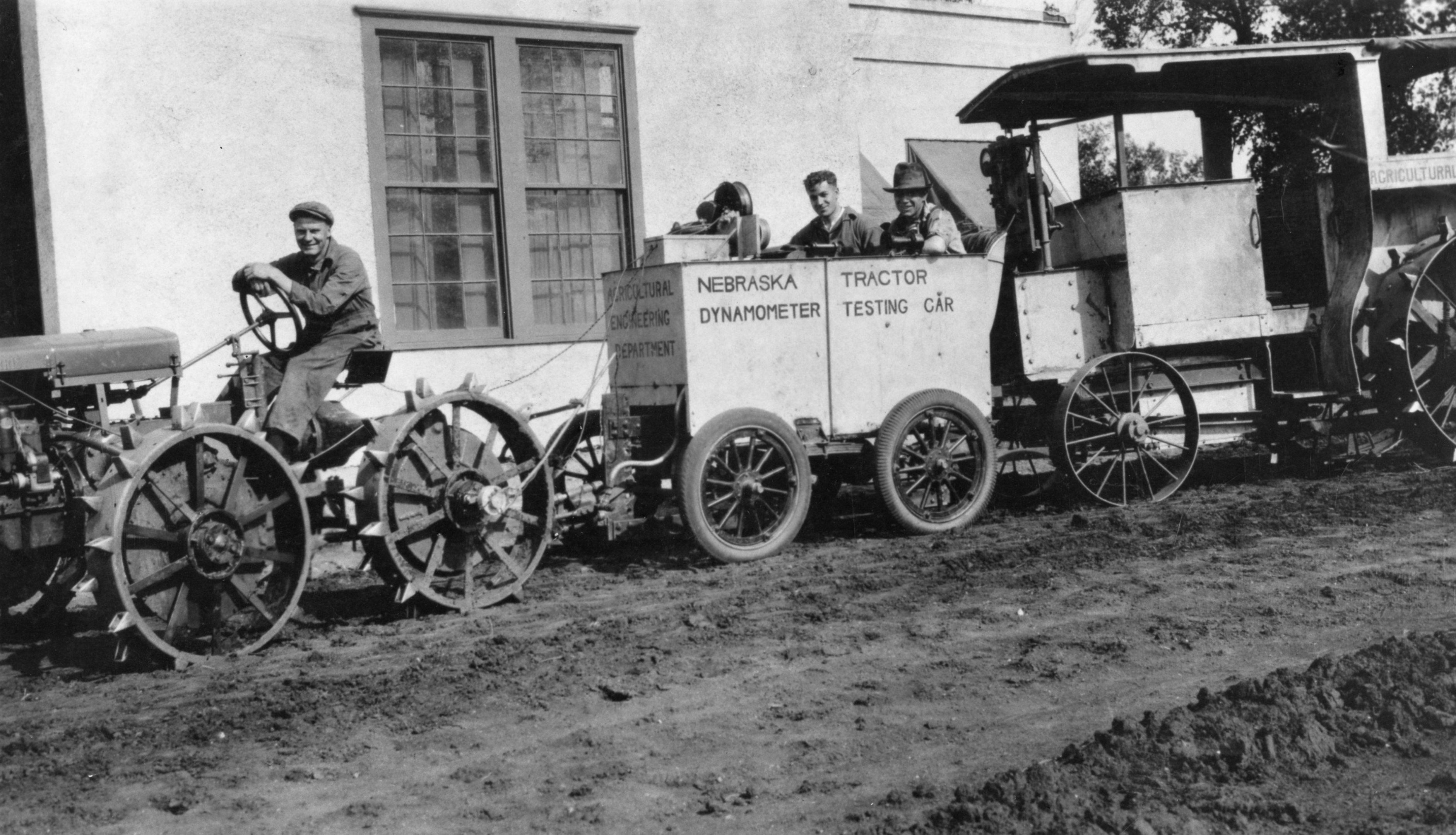 Nebraska Dynamometer, Tractor Testing Car