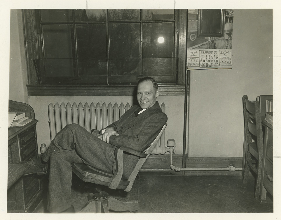 James l. Sellers seated
