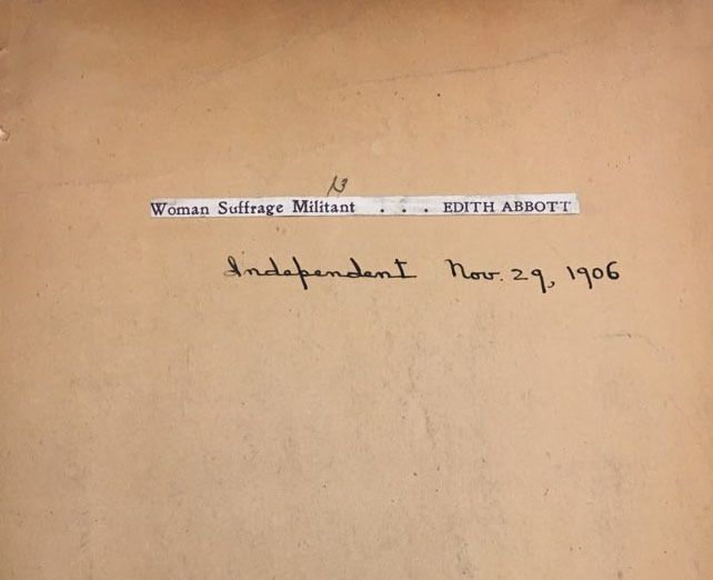 "Cover detail, ""Woman Suffrage Militant..."""