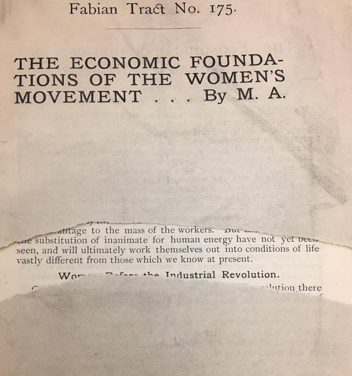 """Cover detail, """"Economics Foundation..."""""""