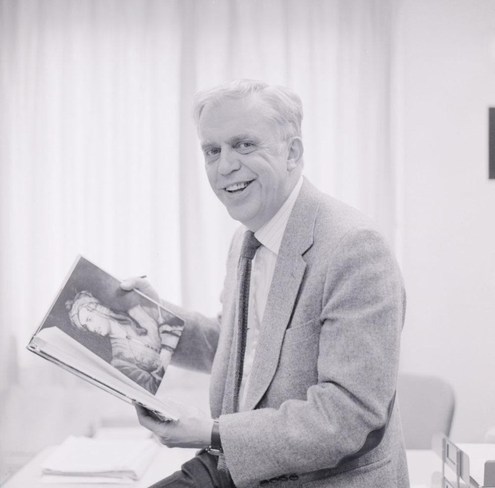 Louis Crompton portrait