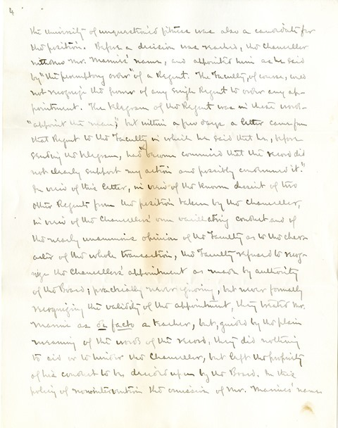 Letter from Aughey and Woodberry to the Board of Regents (4)