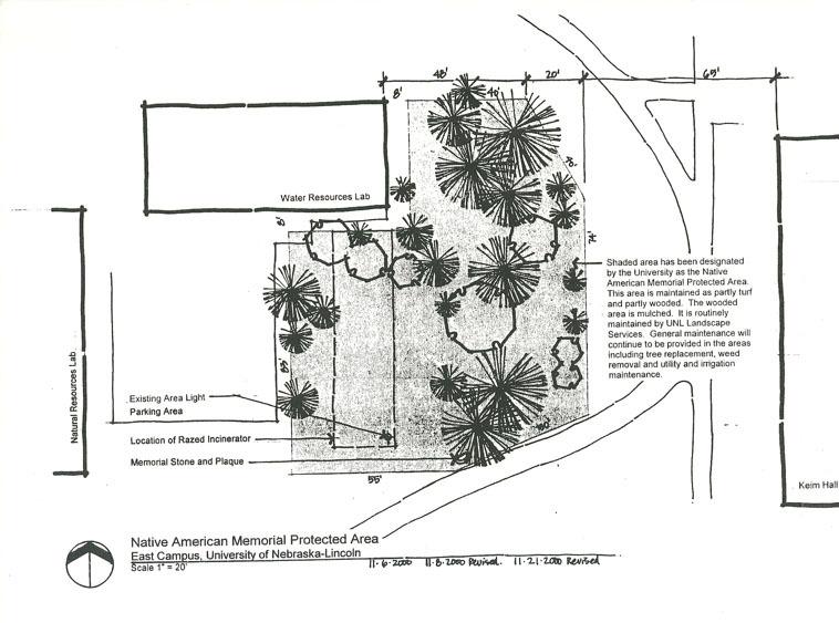 Memorial plans, Board of Regents