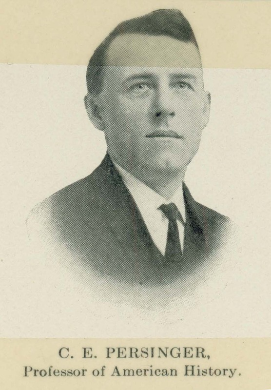 C.E. Persinger portrait