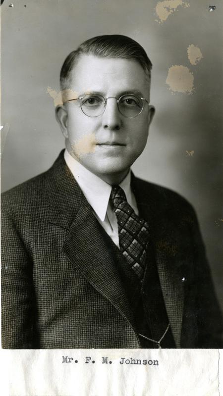 Frank Mackoy Johnson portrait