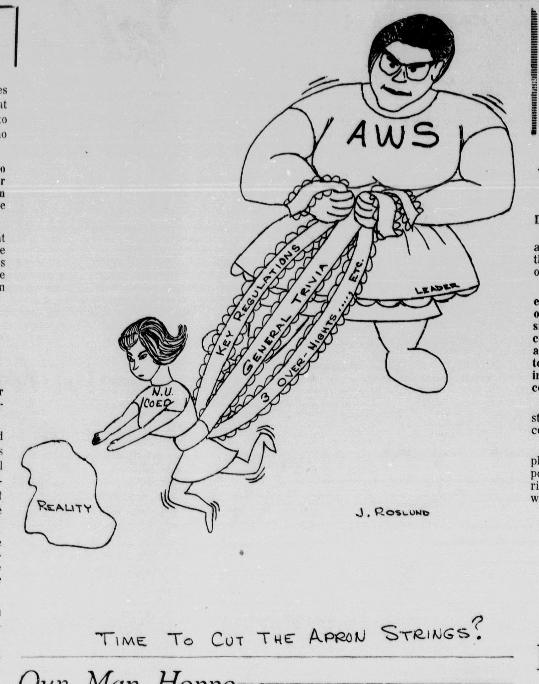 J. Roslung cartoon
