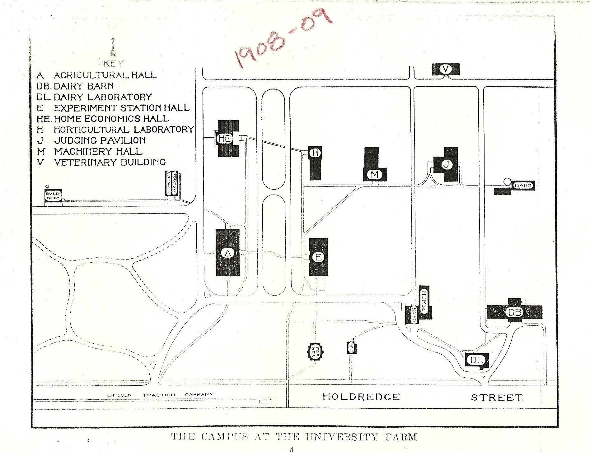 Map, University Farm