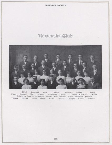 The Komensky Club 1913