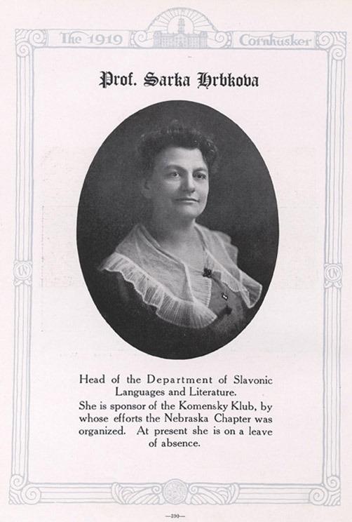 Prof. Sarka Hrbkova