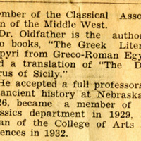 """Article, """"Meet the Faculty,"""" page 3"""
