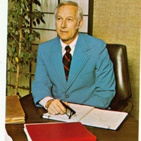 James Zumberge portrait