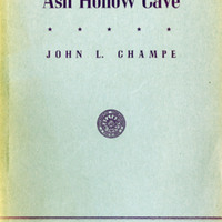 "Cover, ""Ash Hollow Cave"""