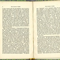 "Article, ""The Claims of Greek,"" pages 4-5"