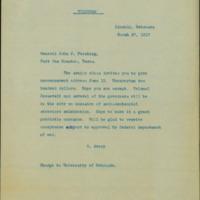Avery to Pershing, 1917 Mar. 27