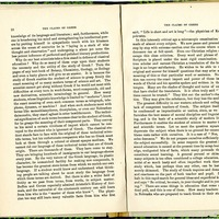 "Article, ""The Claims of Greek,"" pages 12-13"