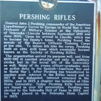 Pershing Rifles Historical Marker
