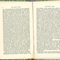 "Article, ""The Claims of Greek,"" pages 8-9<br />"