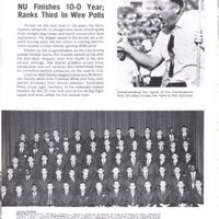 <h2>1966 University of Nebraska Football Team and Coach Bob Devaney</h2>