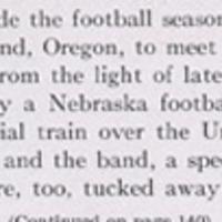 1916 Nebraska football season recap in the 1916-1917 yearbook