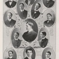 Yearbook page, Debate Society