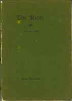 The Kiote March 1898 Cover