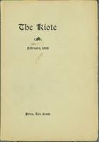 The Kiote February 1898 Cover