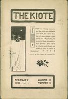 The Kiote February 1900