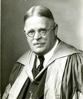 Roscoe Pound portrait