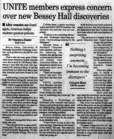 UNITE members express concern over new Bessey Hall discoveries