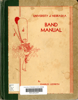 Pages of 1937 R.O.T.C. Band Manual