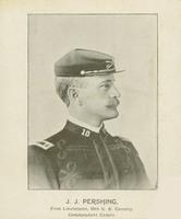 J. J. Pershing, First Lieutenant, 10th Cavalry.