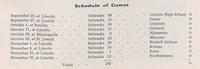 1902 Football Schedule