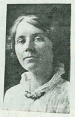 Cora Sowers, the first teacher of Lawrence and Jim.