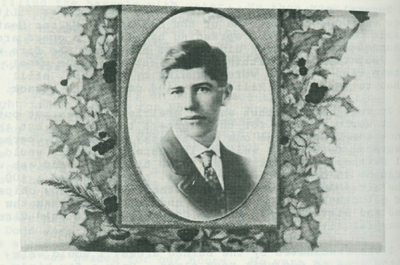 William M. Forbes, teacher of Jim Metzger in 1917-18.