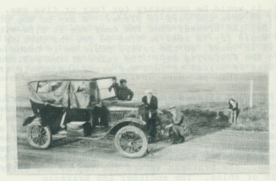 The 1922 Model T Ford Touring Car.