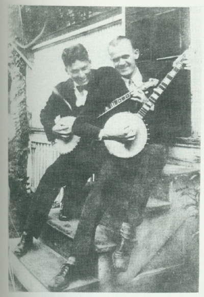 Ray Magnuson and Jim Metzger, 1928.