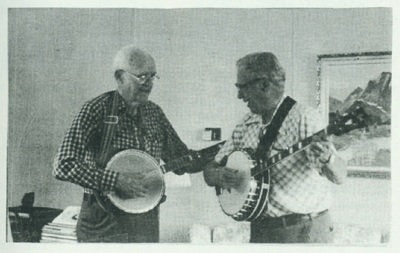 Ray Magnuson and Jim Metzger, 1988.