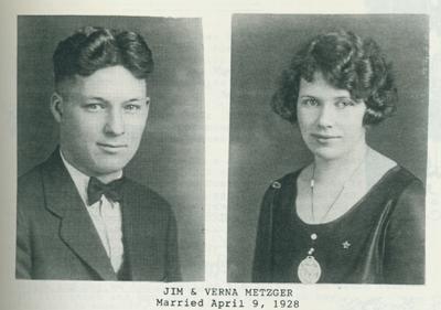 Jim and Verna Metzger.