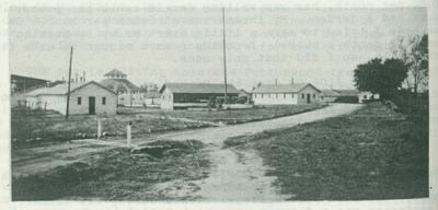 Civilian Conservation Corp camp in Fairbury, Nebraska.