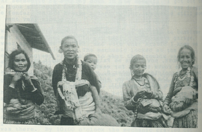 Nepalese villagers