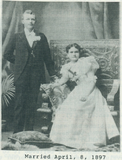 Verna's parents, Frank and Nettie.