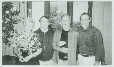 Left to right: Peggy, Ken, Dale, Gordon.