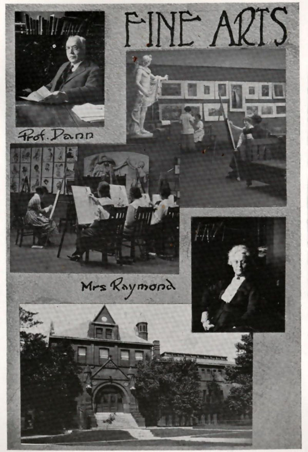 Fine Arts Department Photos from the 1919 Cornhusker Yearbook, page 123.