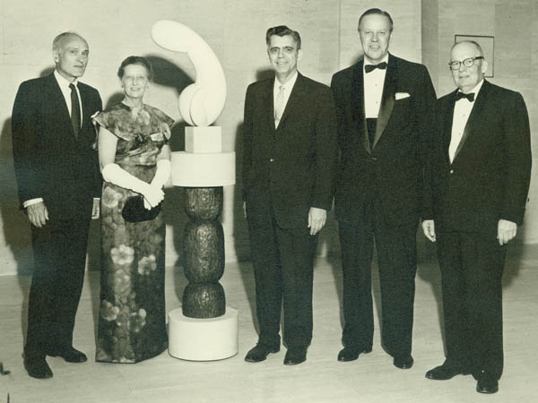 A photograph of the reception of the Dedication of the Sheldon Memorial Art Gallery, May 1963 DOI: 2007