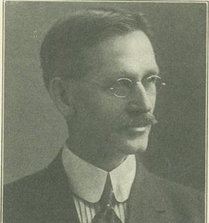Portrait of Dr. James Lees from the Nebraska Alumnus Magazine.