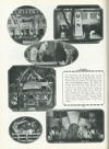 Image of Cornhusker yearbook page displaying the homecoming decoration contest winners, c. 1929. DOI: 2008